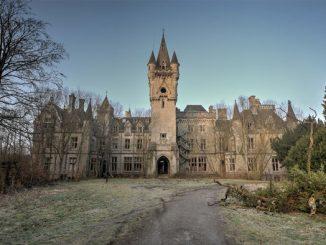 An abandoned fairytale castle.