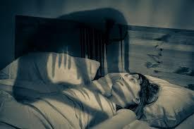 The nightmarish sleep paralysis